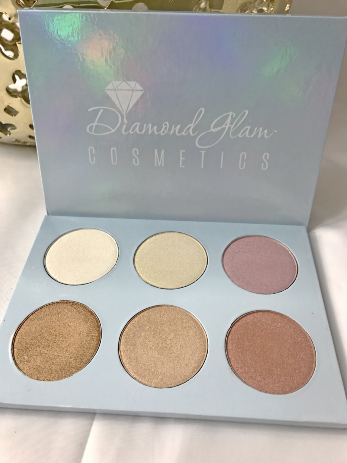 Diamond Glam Highlight Palette