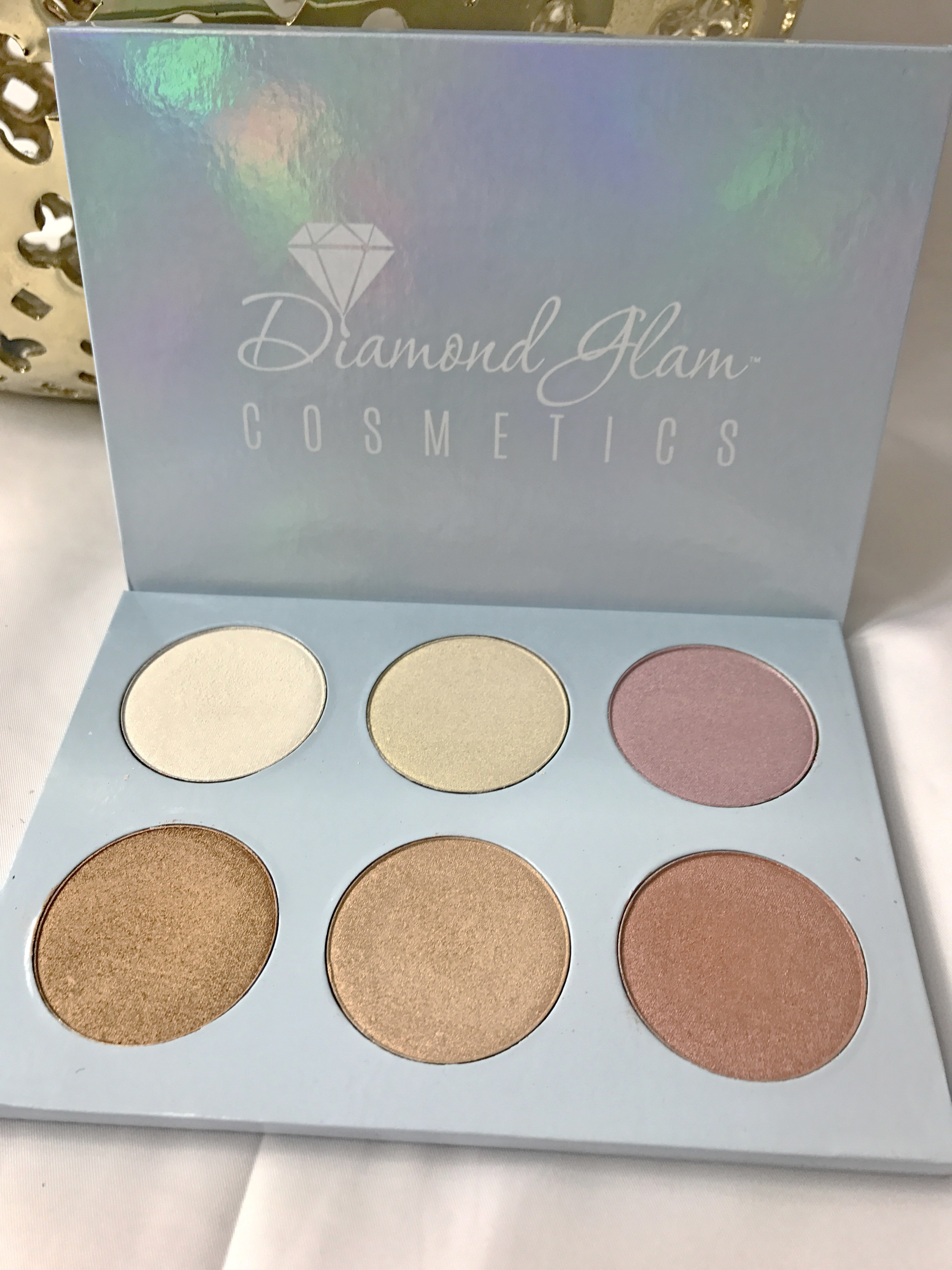 Diamond Glam Highlight Palette